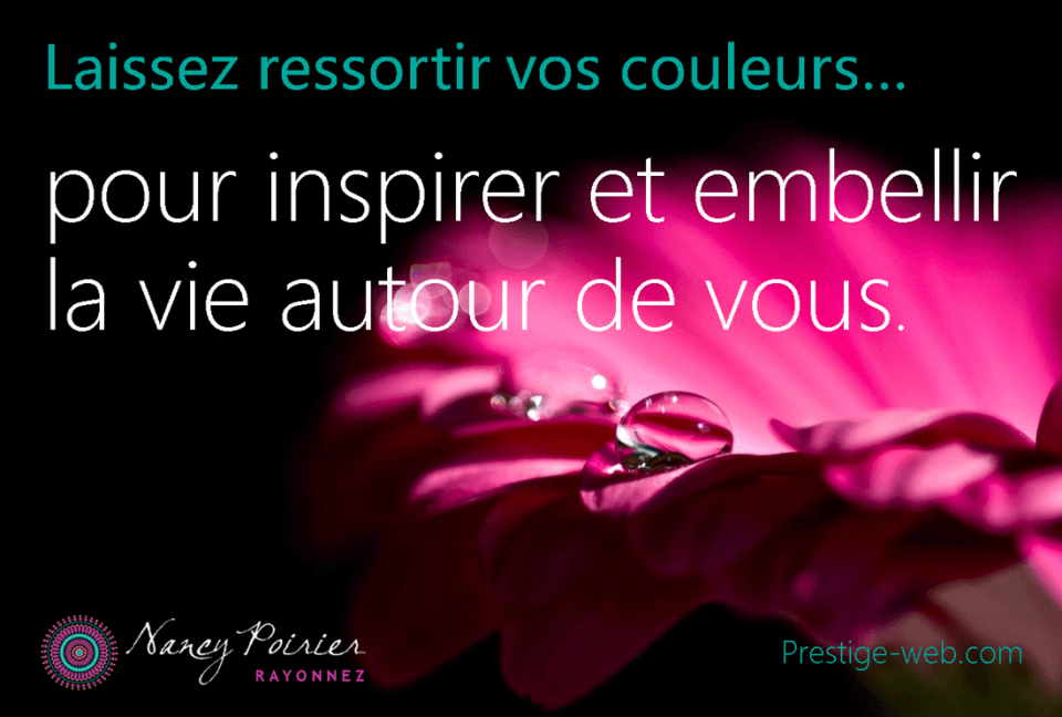 Citation couleur
